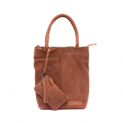 ZebraTrends Natural Bag Kartel Echt Suede P. Vintage