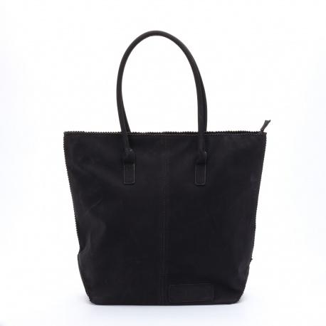 Zebratrends Natural Bag met rits Zwart