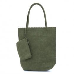 ZebraTrends Kartel Suedine Limited Colors Vintage Army Green