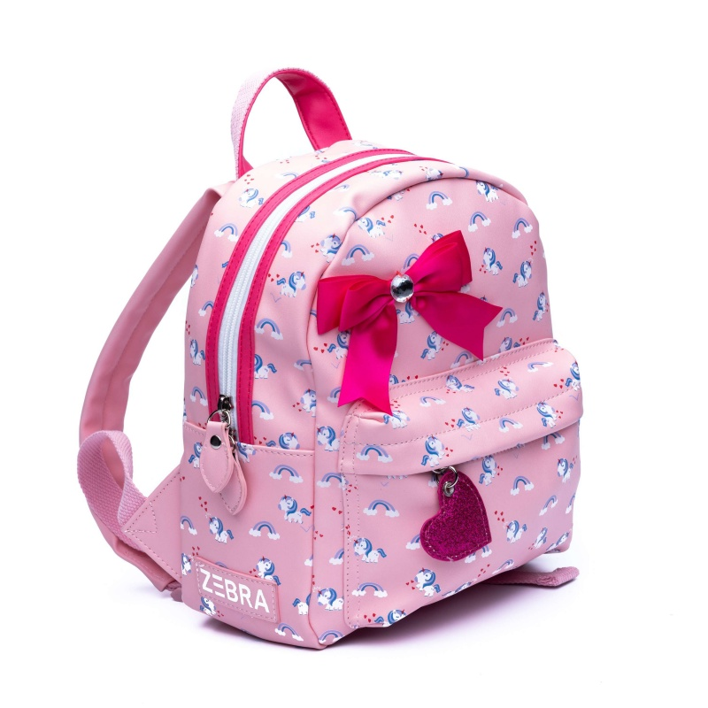0ea488486b4 ZebraTrends - Rugzak - Meisjes - Unicorn - Roze
