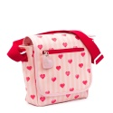 ZebraTrends Kinderflaptas Stripes and Hearts Red