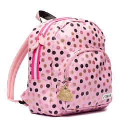 ZebraTrends Girls Rugzak Wild Dots Pink