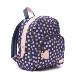 ZebraTrends Girls Rugzak Wild Dots Navy
