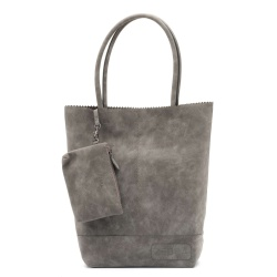 ZebraTrends Kartel Paperbag model Gray