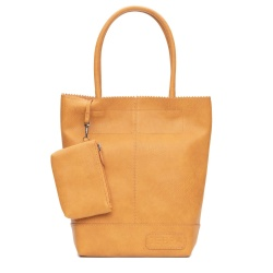 ZebraTrends Kartel Paperbag model Ocre