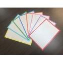 500 Flashcards XL A6 Combi pakket 8 kleuren