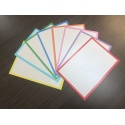 600 Flashcards XL A6 Combi pakket 8 kleuren