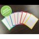 Original Flashcards A7 Combi pakket 8 kleuren 600 stuks