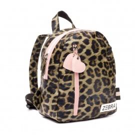 ZebraTrends Girls Rugzak S Leopard