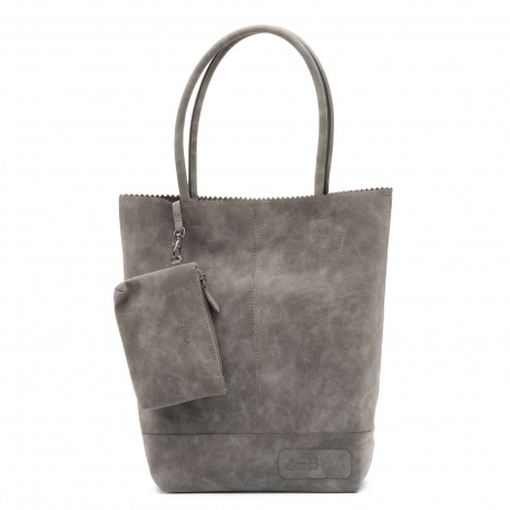 ZebraTrends Kartel Paperbag Grey Noos