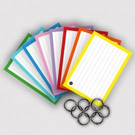 Original Flashcards XL A6 Combi pakket 8 kleuren 600 stuks