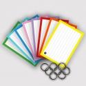 Flashcards A7 perforatie met 8 klikringen