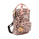 ZebraTrends Girls Rugzak (S) - Zebra stripes pink