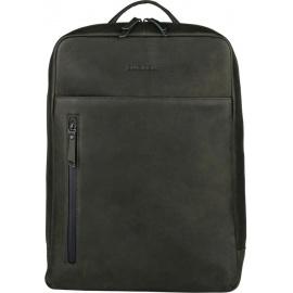 BURKELY Rain Riley Backpack Rugzak 15.6 inch laptopvak - Oil Groen