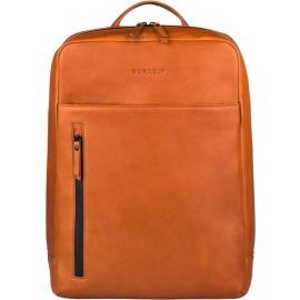 BURKELY Rain Riley Backpack Rugzak 15.6 inch laptopvak - Corroded Cognac