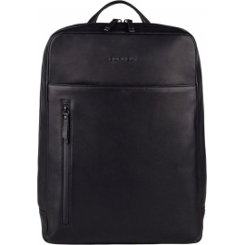 BURKELY Rain Riley Backpack Rugzak 15.6 inch laptopvak - Zwart