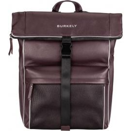 "BURKELY Lucent Lane Backpack Rolltop 15,6"" Rugzak - Rood"