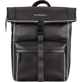 "BURKELY Lucent Lane Backpack Rolltop 15,6"" Rugzak - Zwart"