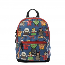Pick & Pack Cute Peace Backpack S blue multi
