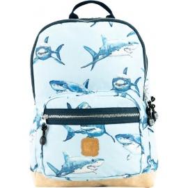 Pick & Pack Shark Backpack M light blue
