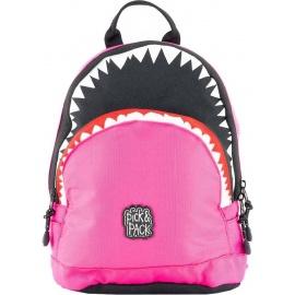 Pick & Pack Shark Shape Backpack S fuchsia